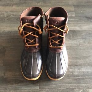 Sperry Duck Boots, NEW